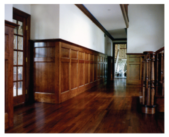 Interior wood finishing by Graham Nunn