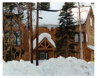 Cedar Home sealing by Graham Nunn Painting